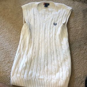 Chaps sweater vest